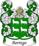 Borrego Family Crest, Coat of Arms