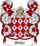 Brito Family Crest, Coat of Arms