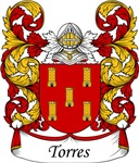 Torres Family Crest, Coat of Arms
