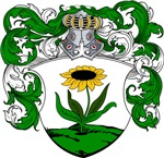 Blom Family Crest, Coat of Arms