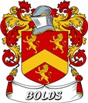 Bolds Coat of Arms, Family Crest