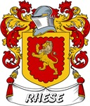 Rhese Coat of Arms, Family Crest