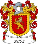 Rhys Coat of Arms, Family Crest