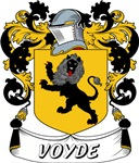 Voyde Coat of Arms, Family Crest