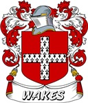 Wakes Coat of Arms, Family Crest