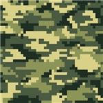 8 Bit Pixel Woodland Camouflage