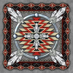 Native American Style Tapestry 4