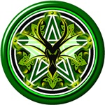 Earth Dragon Pentacle