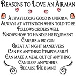 Reasons to love an Airman