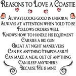 Reasons to love a Coastie