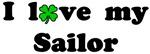 I love my Sailor - With lucky clover