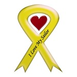 I love my Sailor - Yellow Ribbon