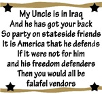 My Uncle has got your back!