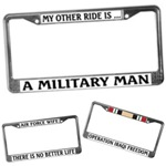 AUTO LICENCE PLATE FRAMES