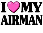 I love (pink heart) My Airman