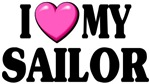I Love ( pink heart ) My Sailor