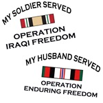 My ? Served - OIF and OEF Campaign Medal