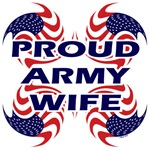 Patriotic Proud Army Wife