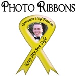 Custom Photo Yellow Ribbon Items