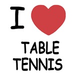I heart table tennis