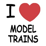 I heart model trains