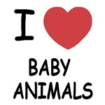 I heart baby animals