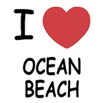 I heart ocean beach