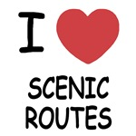 I heart scenic routes