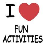 I heart fun activities