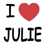 I heart julie