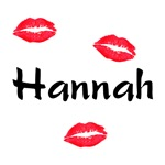 Hannah kisses