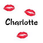 Charlotte kisses