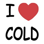 I heart cold