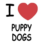 I heart puppy dogs