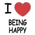 I heart being happy