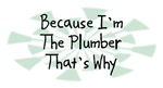 Because I'm The Plumber