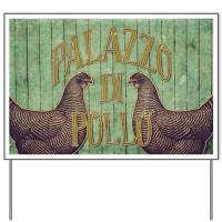 Chicken Yard Signs