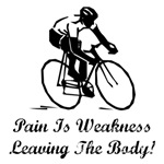 Cycling Pain Is Weakness Leaving The Body
