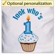 First Birthday - Cupcake t-shirts and gifts