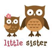 Little Sister - Mod Owl