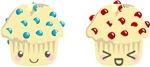 Cute Muffin Pair