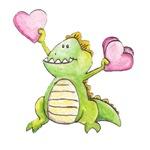Heart Waving Dragon