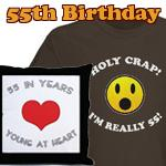 Gag Gifts For 55th Birthday