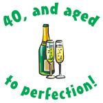 40, Aged To Perfection Gifts