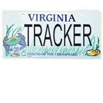 Virginia Tracker Plate