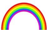 Classic Rainbow Graphic