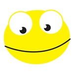 Cute Smiley Yellow face