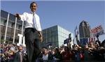 Obama Greets the Public