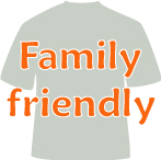 Family fun t-shirts, bumper stickers, mugs & more