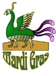 Mardi Gras Bird